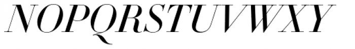 DietDidot Italic Font UPPERCASE