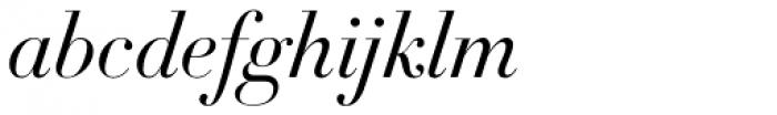 DietDidot Italic Font LOWERCASE