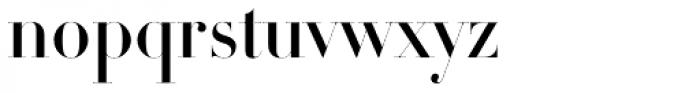 DietDidot Title Bold Font LOWERCASE
