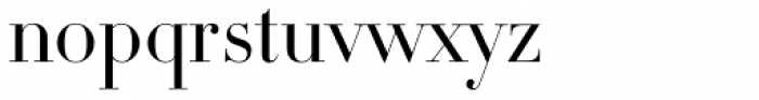 DietDidot Font LOWERCASE