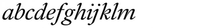 Diethelm AR Display Swash Italic Font LOWERCASE