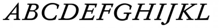 Diethelm AR Italic Font UPPERCASE