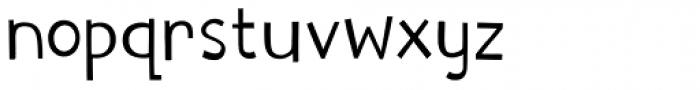 Digby Regular Font LOWERCASE