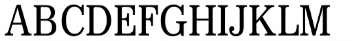 Digi Antiqua Light Condensed Font UPPERCASE