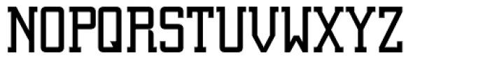 Digi Bo Eck Serif Font UPPERCASE