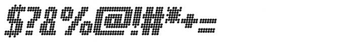 Digital Disco AOE Shortcaps Italic Font OTHER CHARS