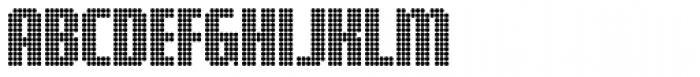Digital Disco AOE Shortcaps Font UPPERCASE