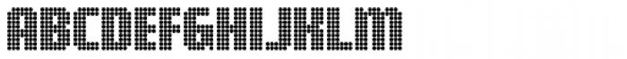 Digital Disco AOE Shortcaps Font LOWERCASE
