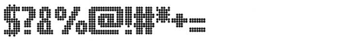 Digital Disco AOE Font OTHER CHARS