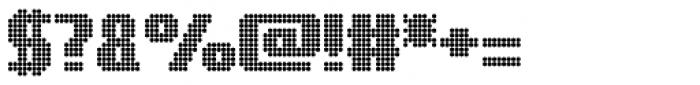 Digital Disco Heavy AOE Shortcaps Font OTHER CHARS