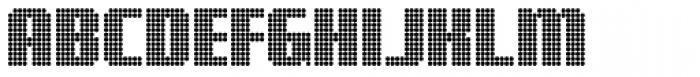 Digital Disco Heavy AOE Shortcaps Font UPPERCASE