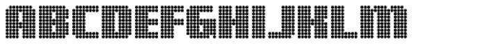 Digital Disco Heavy AOE Shortcaps Font LOWERCASE