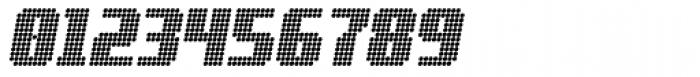 Digital Disco Heavy AOE Standard Italic Font OTHER CHARS