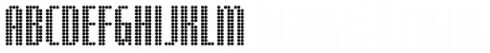 Digital Disco Slim AOE Shortcaps Font UPPERCASE
