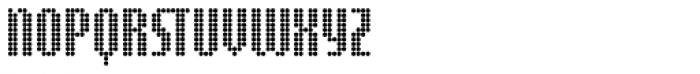 Digital Disco Slim AOE Shortcaps Font LOWERCASE