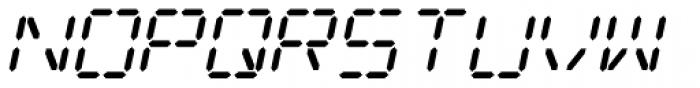 Digital Dream 2003 Italic Font UPPERCASE