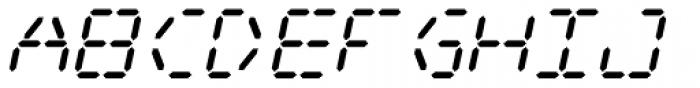 Digital Dream 2003 Italic Font LOWERCASE