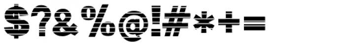 Digital Maurice HStripes Font OTHER CHARS