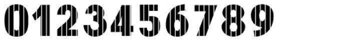 Digital Maurice VStripes Font OTHER CHARS