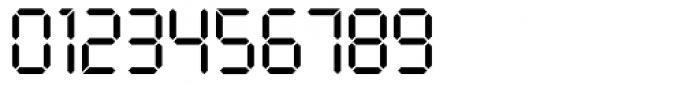 Digital Regular Font OTHER CHARS