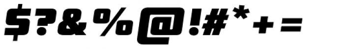 Digital Sans Now ML Black Italic Font OTHER CHARS