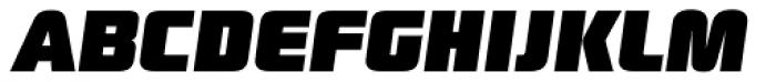Digital Sans Now ML Black Italic Font UPPERCASE