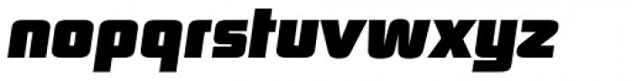 Digital Sans Now ML Black Italic Font LOWERCASE