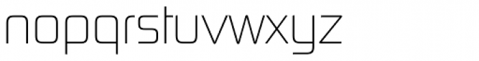 Digital Sans Now ML Cond UltraLight Font LOWERCASE