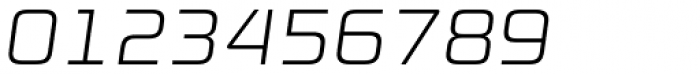Digital Sans Now ML ExtraLight Italic Font OTHER CHARS