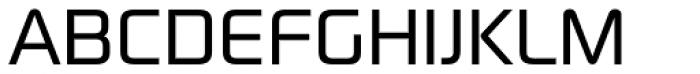 Digital Sans Now ML Reg Font UPPERCASE