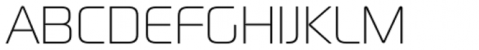 Digital Sans Now ML UltraLight Font UPPERCASE
