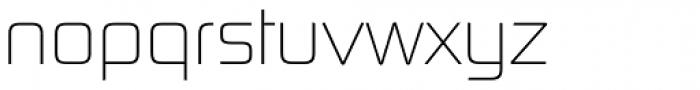 Digital Sans Now ML UltraLight Font LOWERCASE