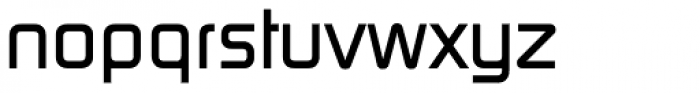 Digital Serial Bold Font LOWERCASE