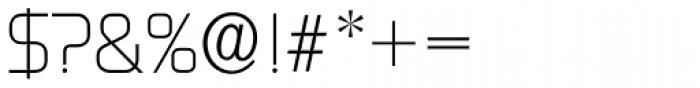 Digital Serial Regular Font OTHER CHARS