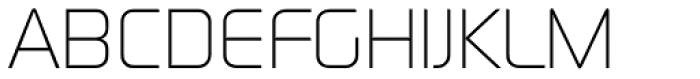 Digital Serial Regular Font UPPERCASE