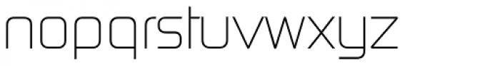 Digital Serial Regular Font LOWERCASE