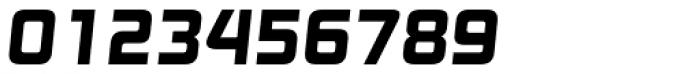 Digital TS Bold Oblique Font OTHER CHARS