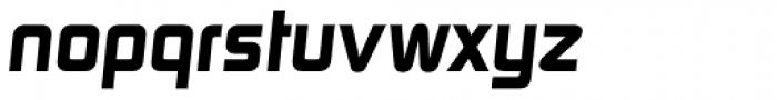 Digital TS Bold Oblique Font LOWERCASE