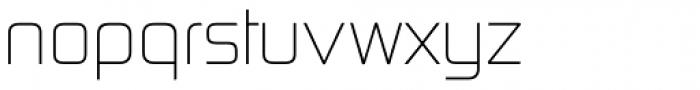 Digital TS Light Font LOWERCASE