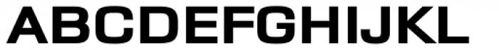 Dignus Expanded ExtraBlack Font UPPERCASE