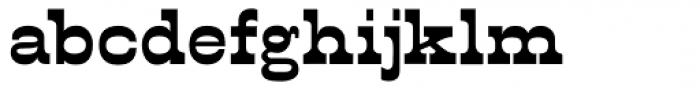 Dime Museum Font LOWERCASE