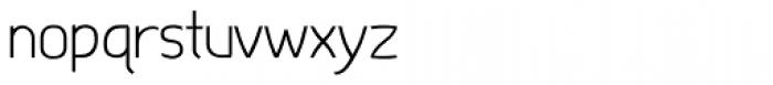 Dimitrina Thin Font LOWERCASE
