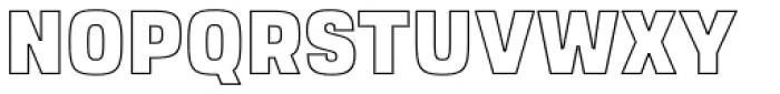Dimor Outline A Font UPPERCASE