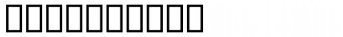 Dingbats 2 UI Font OTHER CHARS