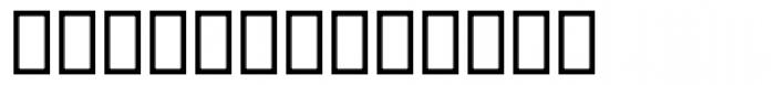 Dingbats 2 UI Font UPPERCASE