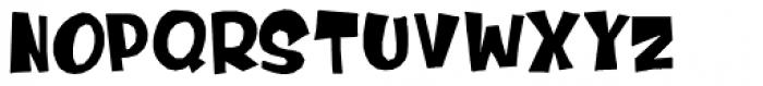 Dinosaur Cake Font UPPERCASE