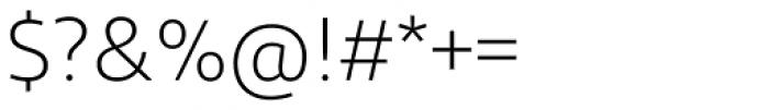 Diodrum Light Font OTHER CHARS