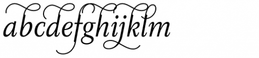 Diogenes Decorative Light Italic 2 Font LOWERCASE