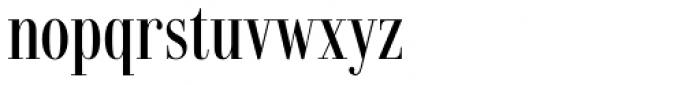 Dionisio Medium Condensed Font LOWERCASE