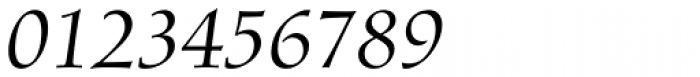 Diotima Classic Pro Italic Font OTHER CHARS